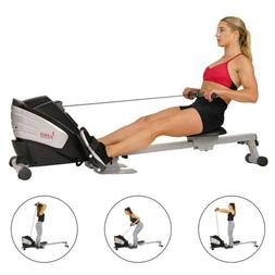 Sunny Health Fitness SF-RW5622 Dual Function Magnetic Rowing
