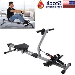 Steel Rowing Machine Cardio Rower Workout Body Training Home