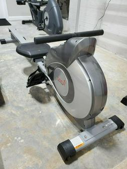 Sunny Health And Fitness Magnetic Rowing Machine with LCD Mo