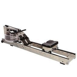 Water Rower Rowing Machine Driftwood with Patented Water Fly