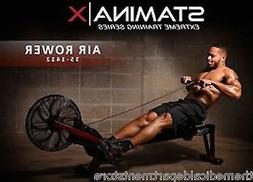 Stamina X AIR ROWER Rowing Machine 35-1412 - Cardio Exercise