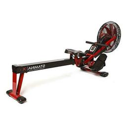 Stamina X Portable Air Rower Rowing Machine Exercise Fitness