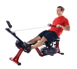 Stamina X Water Rower 35-1442 Rowing Machine w/Heart Rate Tr